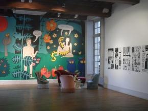Exposition : Le Divan de Liv, à l'Institut Suédois