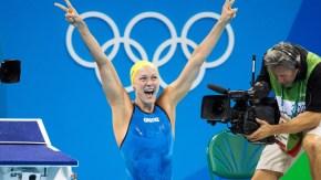 La nageuse Sarah Sjöström bat le record du monde au 100 mètrespapillon